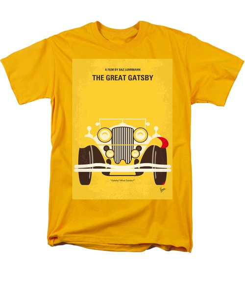 No206 My The Great Gatsby Minimal Movie Poster Men's T-Shirt  (Regular Fit)