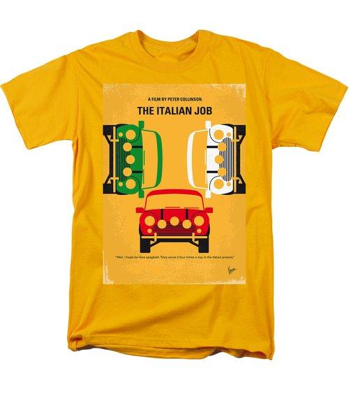 No279 My The Italian Job Minimal Movie Poster Men's T-Shirt  (Regular Fit)