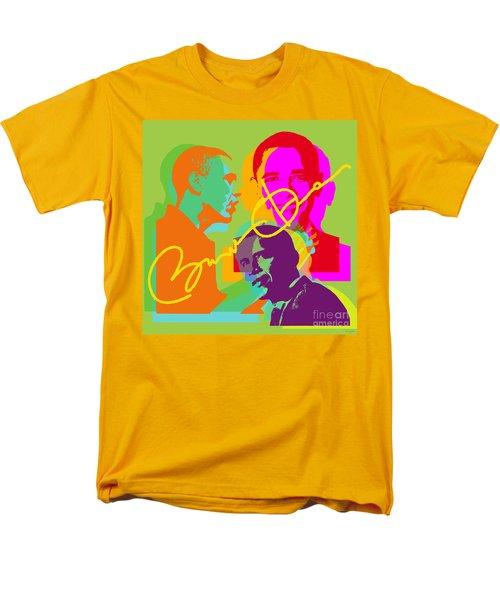 Obama Men's T-Shirt  (Regular Fit) by Jean luc Comperat