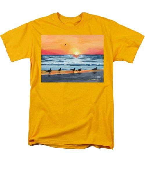 October Sunset On Siesta Key Florida Men's T-Shirt  (Regular Fit)