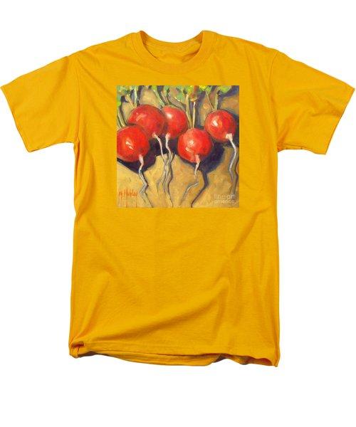 Organic Radishes Still Life Men's T-Shirt  (Regular Fit) by Mary Hubley