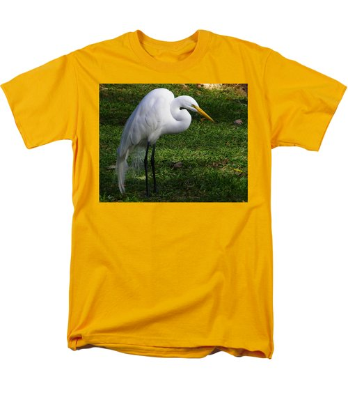 Posing Prettily Men's T-Shirt  (Regular Fit) by Judy Wanamaker