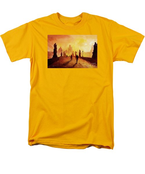 Prague Sunrise Men's T-Shirt  (Regular Fit)