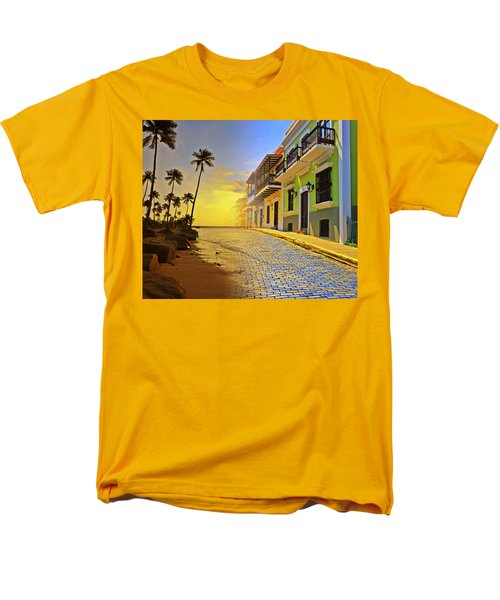 Puerto Rico Collage 2 Men's T-Shirt  (Regular Fit) by Stephen Anderson