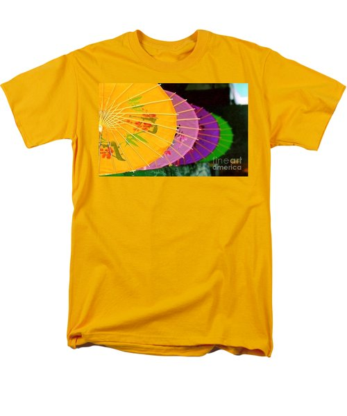Men's T-Shirt  (Regular Fit) featuring the photograph New Orleans Rainbowellas by Michael Hoard