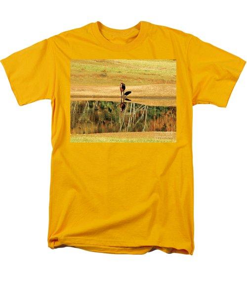 Men's T-Shirt  (Regular Fit) featuring the photograph Reflection by Carol Lynn Coronios