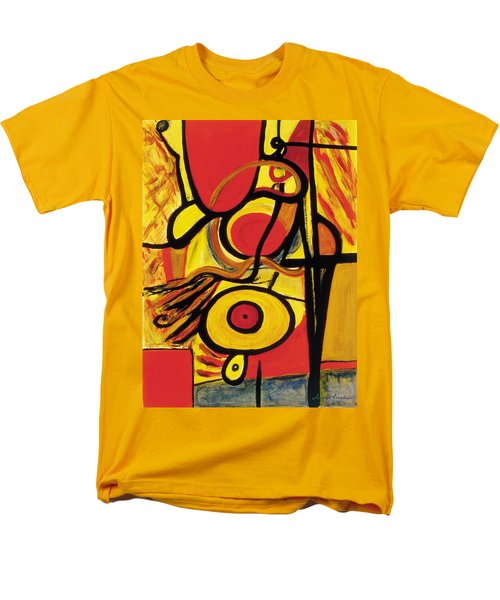 Men's T-Shirt  (Regular Fit) featuring the painting Relativity 2 by Stephen Lucas