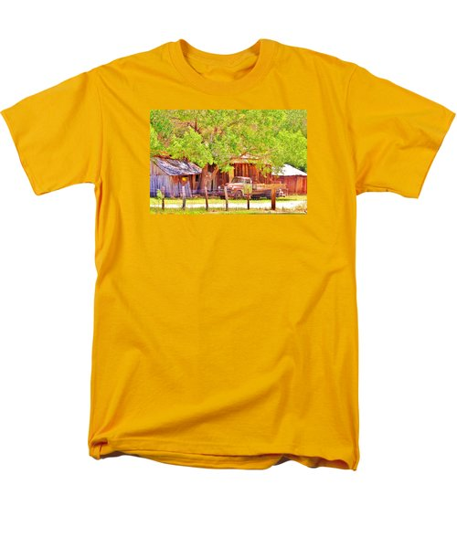 Retired Men's T-Shirt  (Regular Fit) by Marilyn Diaz