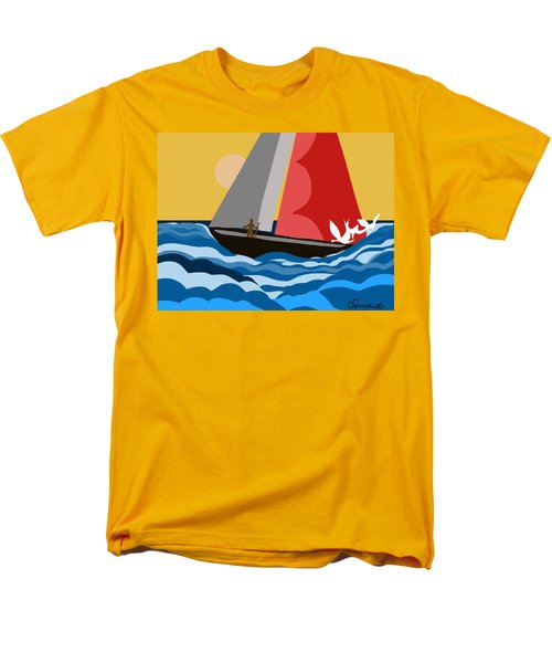 Sail Day Men's T-Shirt  (Regular Fit)