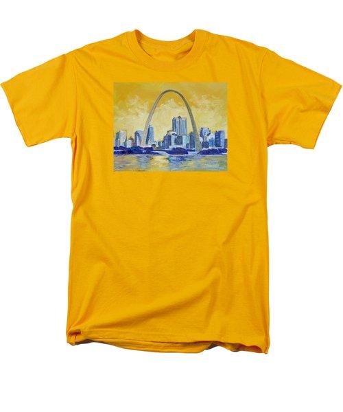 Saint Louis Skyline 1 Men's T-Shirt  (Regular Fit)
