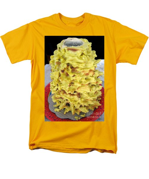 Sakotis. Lithuanian Tree Cake. Men's T-Shirt  (Regular Fit) by Ausra Huntington nee Paulauskaite