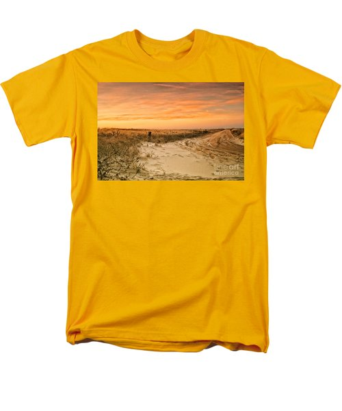 Sandy Road Leading To The Beach Men's T-Shirt  (Regular Fit) by Sabine Jacobs