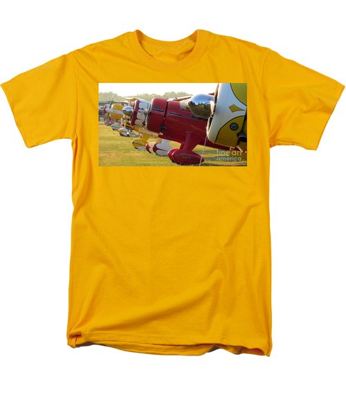 Side By Side. Oshkosh 2012 Men's T-Shirt  (Regular Fit) by Ausra Huntington nee Paulauskaite