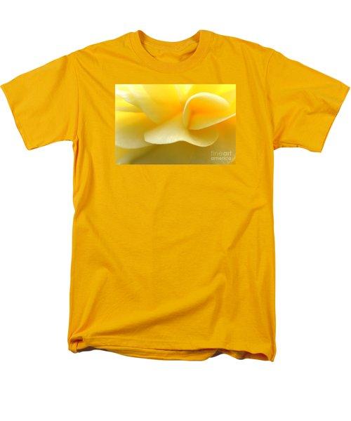 Soft Yellow Men's T-Shirt  (Regular Fit)