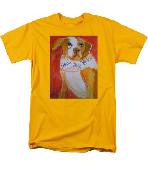 Spencer The Pit Bull Men's T-Shirt  (Regular Fit)