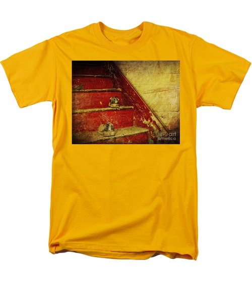 Men's T-Shirt  (Regular Fit) featuring the photograph Step Back In Time by Debra Fedchin