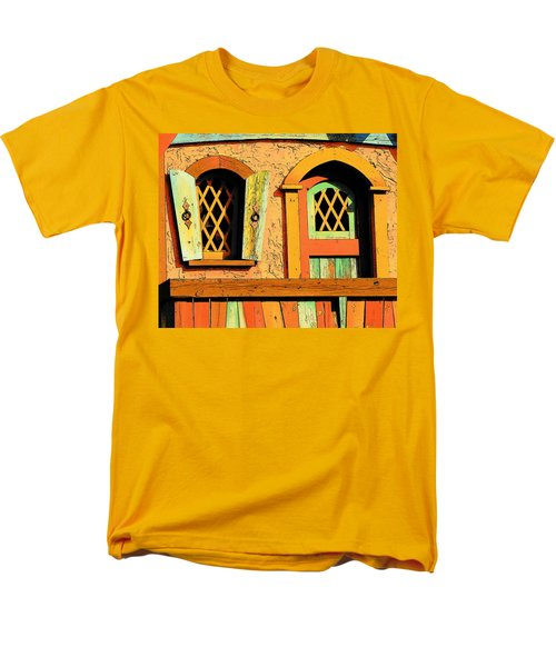 Storybook Window And Door Men's T-Shirt  (Regular Fit) by Rodney Lee Williams