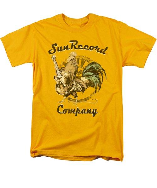 Sun - Rockin Rooster Logo Men's T-Shirt  (Regular Fit) by Brand A