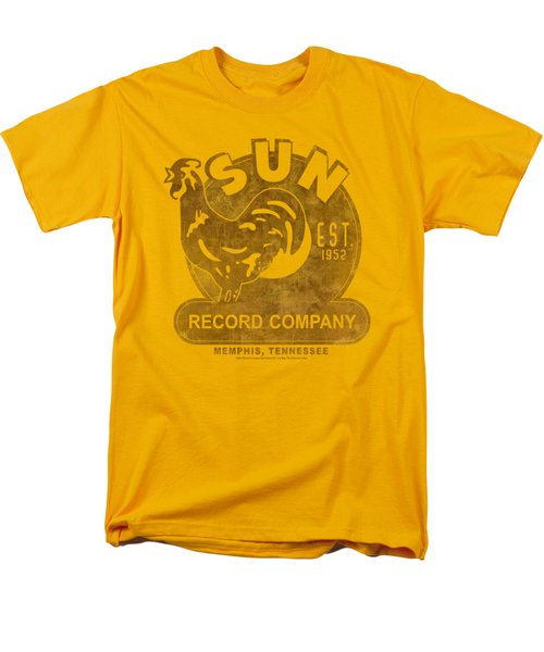 Sun - Sun Record Men's T-Shirt  (Regular Fit) by Brand A