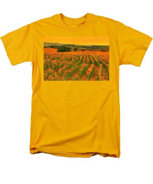 Sunflower Dream Men's T-Shirt  (Regular Fit) by Midori Chan