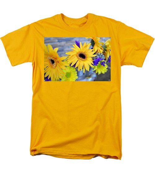 Men's T-Shirt  (Regular Fit) featuring the photograph Sunny Days by Ally  White