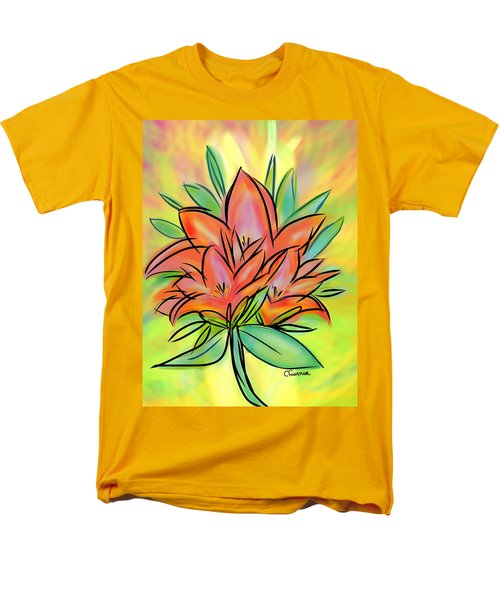 Sunrise Lily Men's T-Shirt  (Regular Fit)