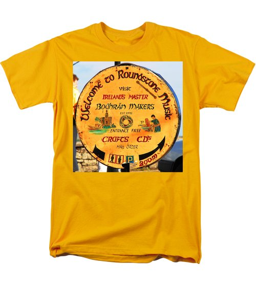 The Bodhran Makers Men's T-Shirt  (Regular Fit) by Charlie and Norma Brock