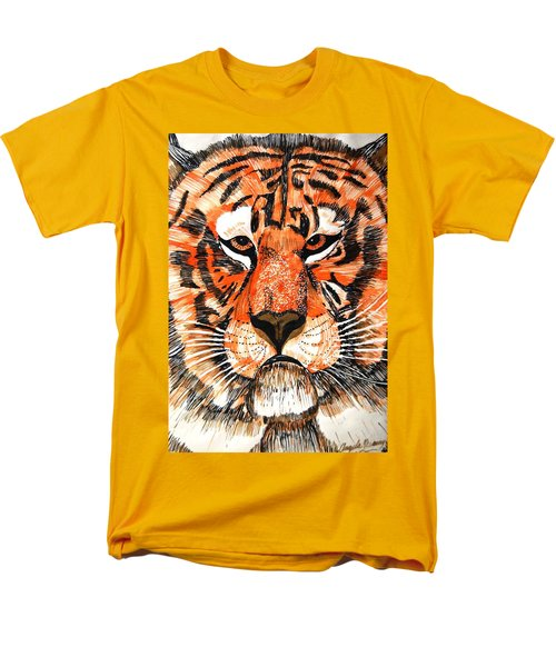 Tiger Men's T-Shirt  (Regular Fit) by Angela Murray