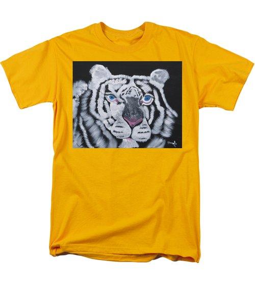 Jungle Eyes Men's T-Shirt  (Regular Fit) by Meryl Goudey