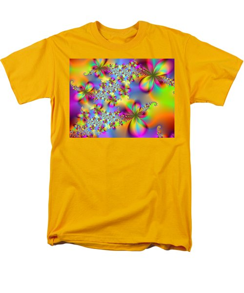 Men's T-Shirt  (Regular Fit) featuring the digital art Timeless Elegance by Ester  Rogers