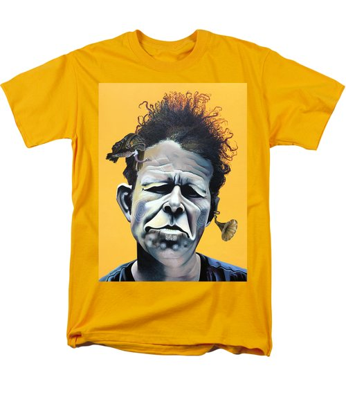 Tom Waits - He's Big In Japan Men's T-Shirt  (Regular Fit) by Kelly Jade King