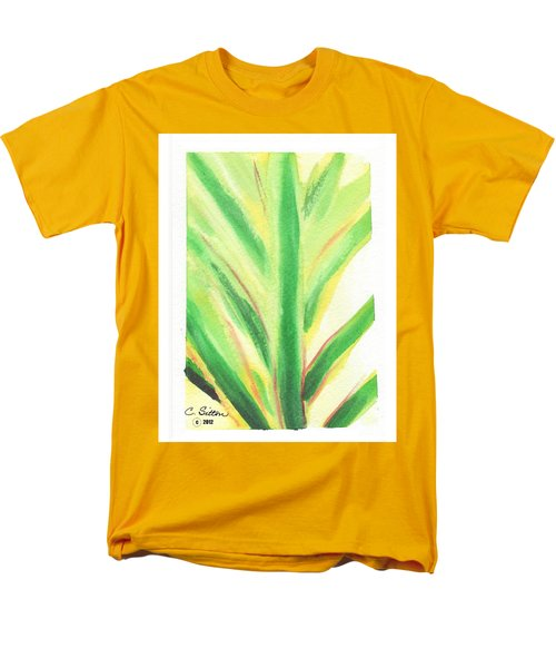 Tropical Leaf Men's T-Shirt  (Regular Fit) by C Sitton