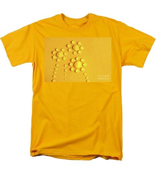 Water Flowers Men's T-Shirt  (Regular Fit) by Carlos Caetano