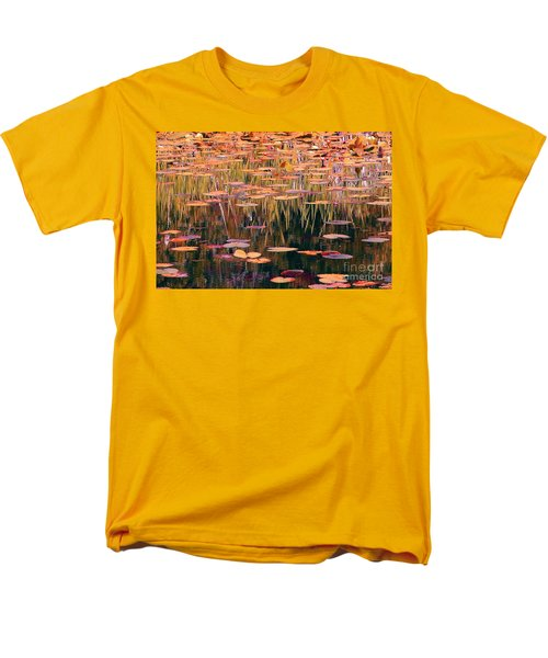 Men's T-Shirt  (Regular Fit) featuring the photograph Water Lilies Re Do by Chris Anderson