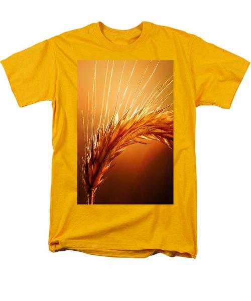 Wheat Close-up Men's T-Shirt  (Regular Fit) by Johan Swanepoel