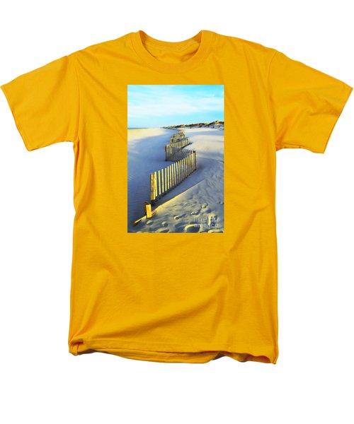 Windswept At Sunset - Jersey Shore Men's T-Shirt  (Regular Fit) by Joseph J Stevens