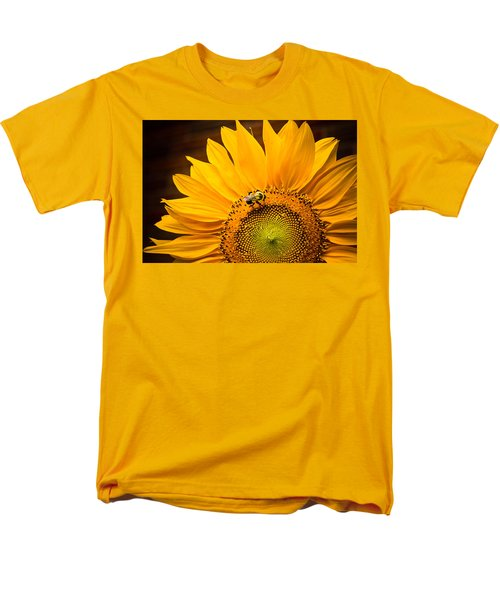 Men's T-Shirt  (Regular Fit) featuring the photograph Yellow And Black by Sara Frank