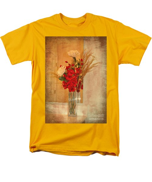 Men's T-Shirt  (Regular Fit) featuring the photograph A Rose By Any Other Name by Kathy Baccari