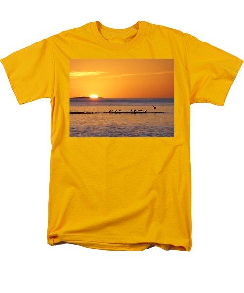 Men's T-Shirt  (Regular Fit) featuring the photograph Agua Verde Sunrise by Anne Mott