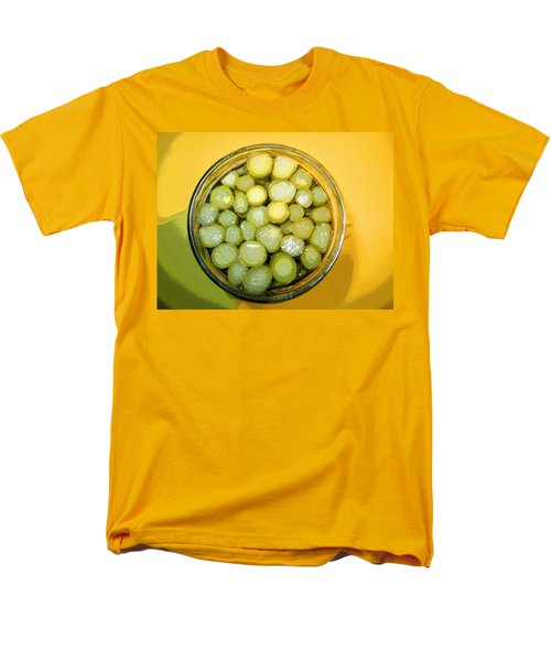 Men's T-Shirt  (Regular Fit) featuring the photograph Asparagus In A Jar by Kym Backland