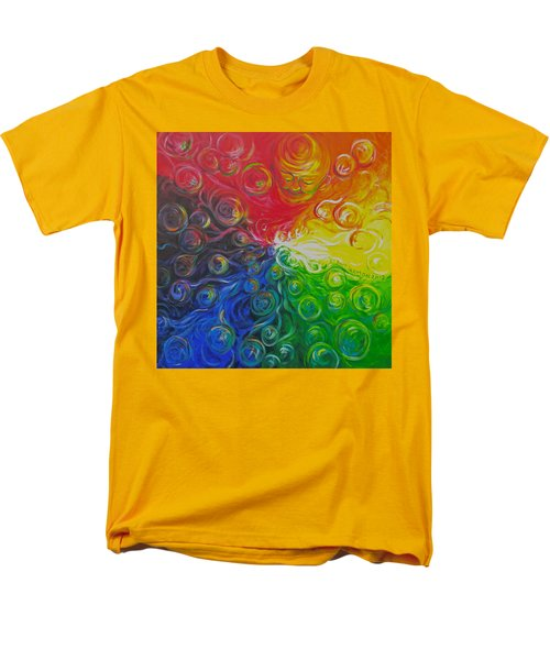 Birth Of Color Men's T-Shirt  (Regular Fit) by Jeanette Jarmon