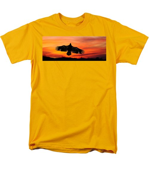 Men's T-Shirt  (Regular Fit) featuring the photograph Juvenile Sunset  by Randall Branham