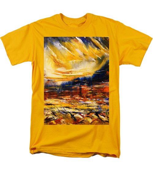 Sedona Sky Men's T-Shirt  (Regular Fit) by Karen  Ferrand Carroll
