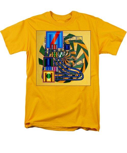 Men's T-Shirt  (Regular Fit) featuring the painting Sendintank by Mark Howard Jones