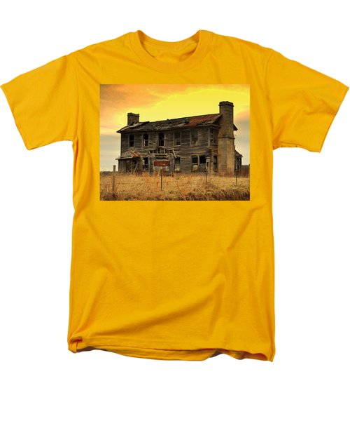 Men's T-Shirt  (Regular Fit) featuring the photograph Times Past by Marty Koch