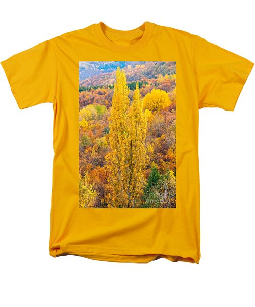 Men's T-Shirt  (Regular Fit) featuring the photograph Tuscany Landscape  by Luciano Mortula