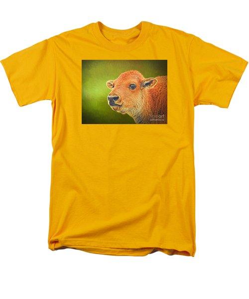 Buffalo Calf Men's T-Shirt  (Regular Fit) by Suzanne Handel