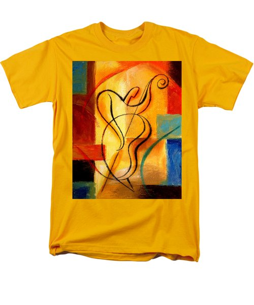 Jazz Fusion Men's T-Shirt  (Regular Fit) by Leon Zernitsky