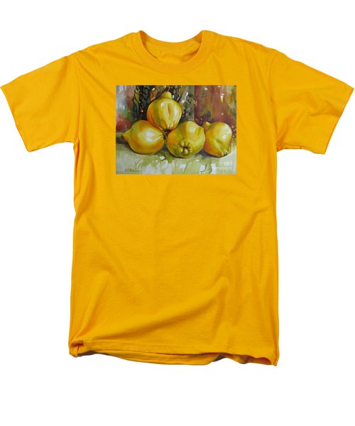 Men's T-Shirt  (Regular Fit) featuring the painting Autumn Harmony by Elena Oleniuc