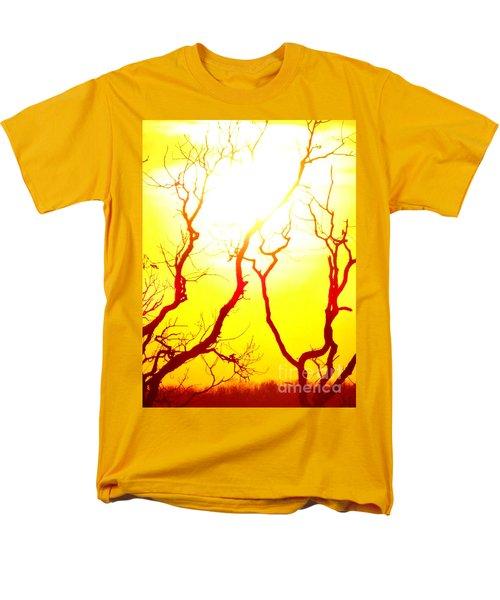 Burning Sunset Men's T-Shirt  (Regular Fit) by Justin Moore